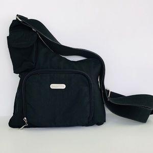 Baggallini black sling crossbody bag